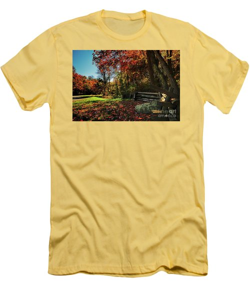 Shenandoah Fall Men's T-Shirt (Athletic Fit)