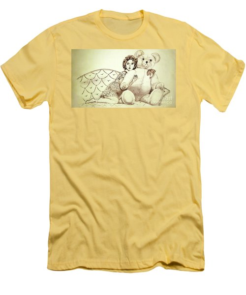 Shirley Temple Men's T-Shirt (Athletic Fit)