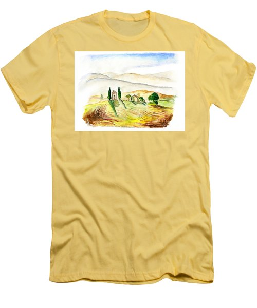 Siena. Italy Men's T-Shirt (Athletic Fit)