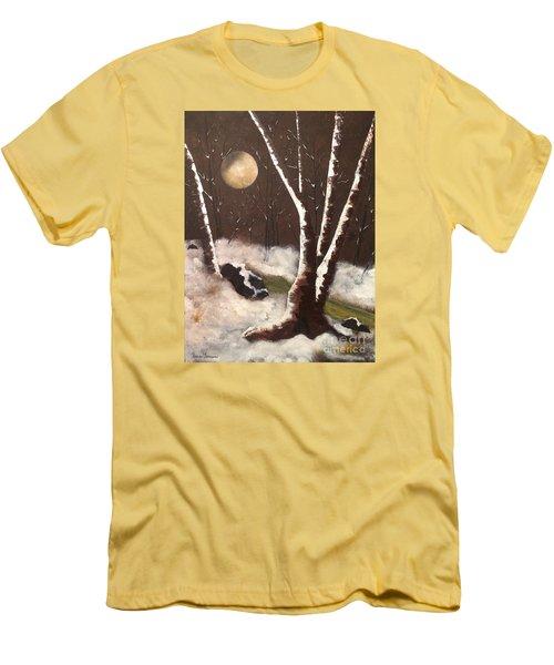 Silent Night Men's T-Shirt (Athletic Fit)