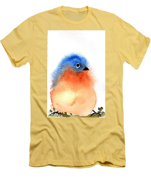 Silly Bird #2 Men's T-Shirt (Athletic Fit)
