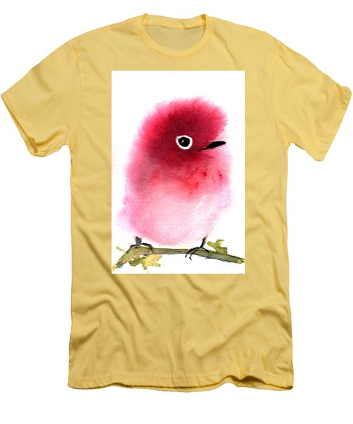 Silly Bird #4 Men's T-Shirt (Athletic Fit)