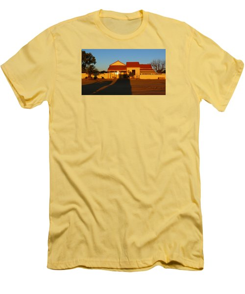 Silverton Men's T-Shirt (Slim Fit) by Evelyn Tambour