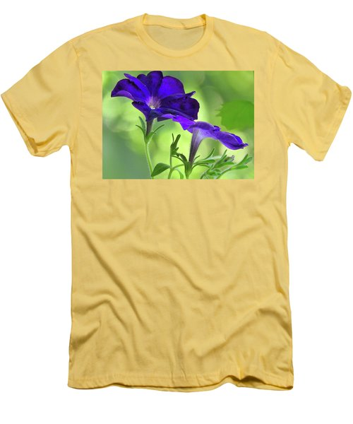 Simple And Undemanding Men's T-Shirt (Slim Fit) by Laura Ragland