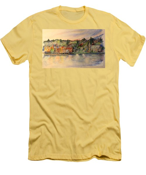 Skaneateles Ny Men's T-Shirt (Athletic Fit)