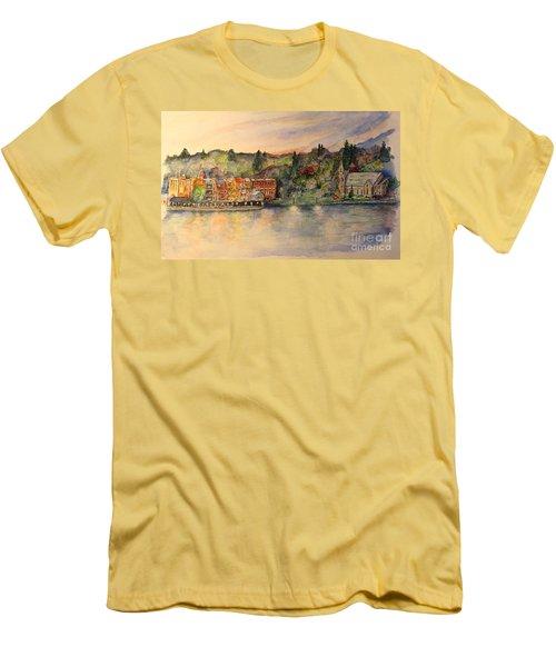 Skaneateles Ny Men's T-Shirt (Athletic Fit)