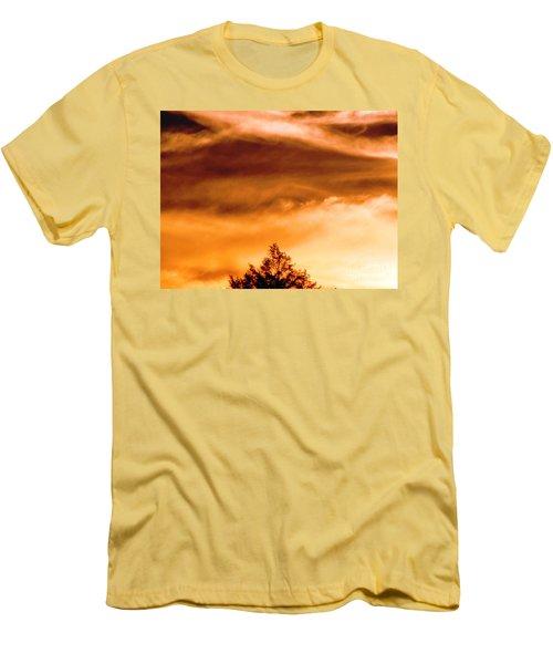 Eye Of Jupiter Men's T-Shirt (Slim Fit) by Melissa Stoudt