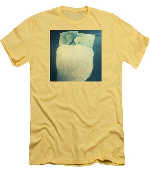 Sleep - In Love Men's T-Shirt (Slim Fit) by Tone Aanderaa