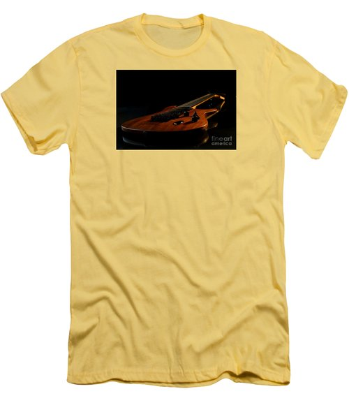 Men's T-Shirt (Slim Fit) featuring the photograph Slow-hand-guitar by Franziskus Pfleghart