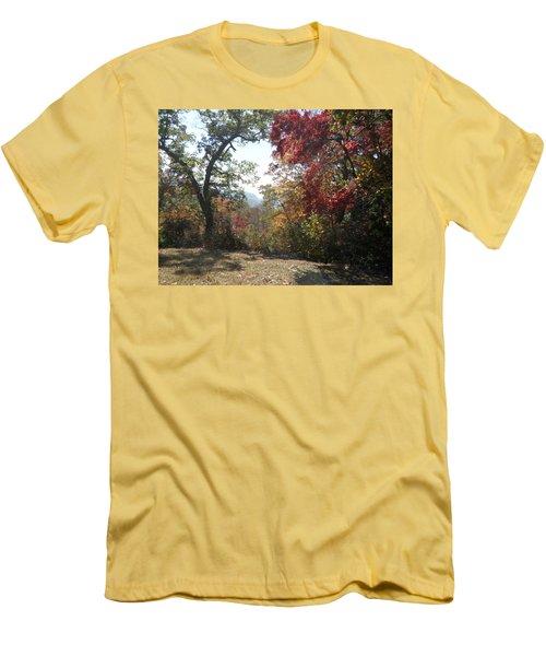 Smokies 12 Men's T-Shirt (Slim Fit) by Val Oconnor