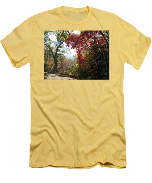 Smokies 13 Men's T-Shirt (Slim Fit) by Val Oconnor