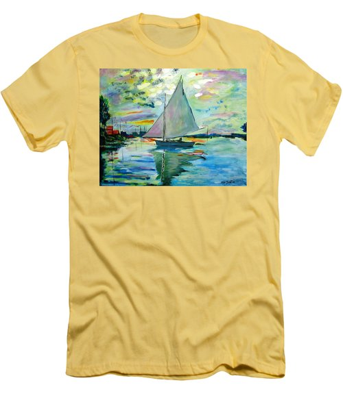 Smooth Sailing Men's T-Shirt (Athletic Fit)