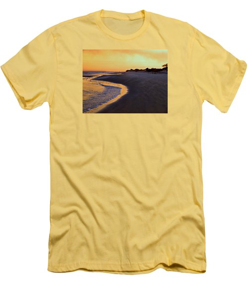 Men's T-Shirt (Slim Fit) featuring the photograph Solitary Walker by Laura Ragland