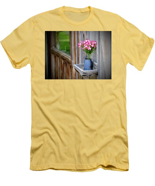 Men's T-Shirt (Athletic Fit) featuring the photograph Something Old Something New by AJ Schibig