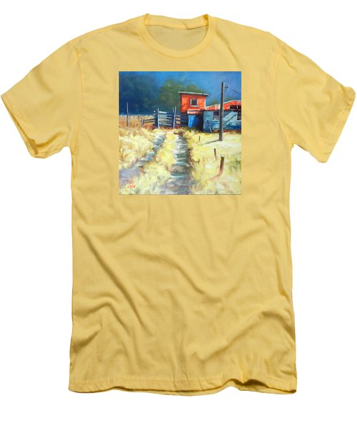 Somewhere Far Away, Peru Impression Men's T-Shirt (Athletic Fit)