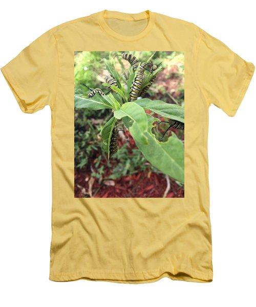 Soon To Change Men's T-Shirt (Slim Fit) by Audrey Robillard