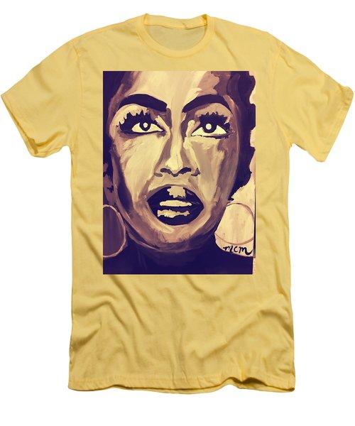 Soul Sister  Men's T-Shirt (Slim Fit) by Miriam Moran