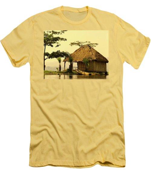 Source Of The Nile Men's T-Shirt (Slim Fit) by Exploramum Exploramum