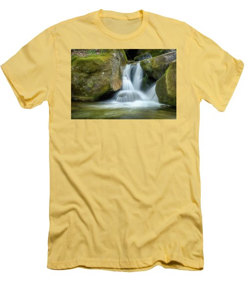 Men's T-Shirt (Athletic Fit) featuring the photograph South Mtn State Park 2 by Joye Ardyn Durham