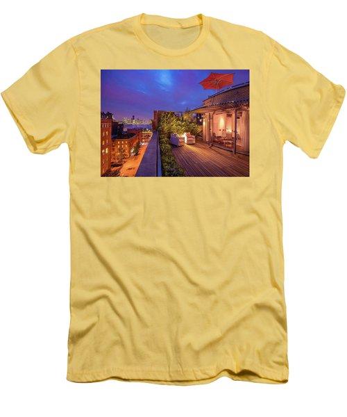 Space Men's T-Shirt (Athletic Fit)