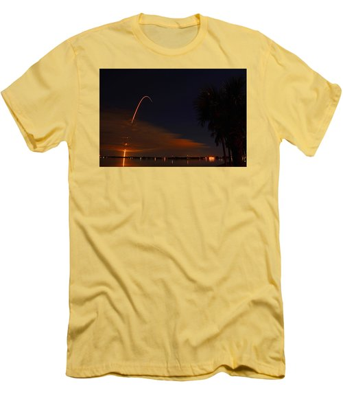 Space Station Bound Men's T-Shirt (Athletic Fit)