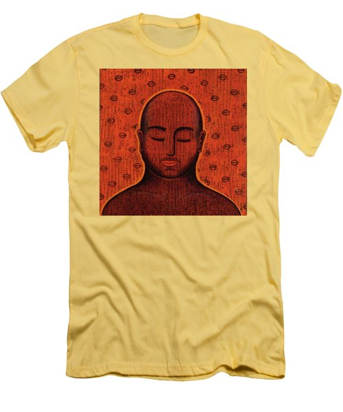 Men's T-Shirt (Slim Fit) featuring the mixed media Spacious Awareness by Gloria Rothrock