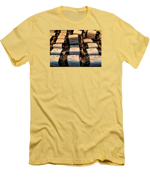 Men's T-Shirt (Slim Fit) featuring the photograph Spam, Spam, Spam, Spam by Brenda Pressnall