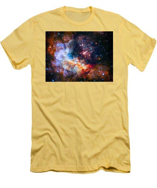 Sparkling Star Cluster Westerlund 2 Men's T-Shirt (Athletic Fit)