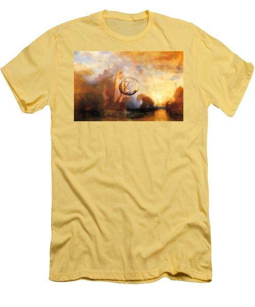Sphere 11 Turner Men's T-Shirt (Slim Fit) by David Bridburg