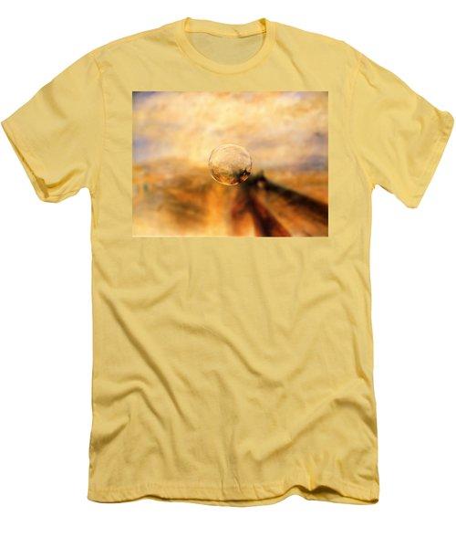Sphere 8 Turner Men's T-Shirt (Slim Fit) by David Bridburg