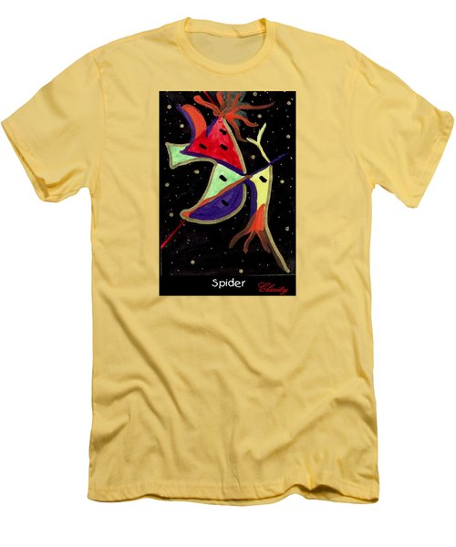Spider Men's T-Shirt (Slim Fit) by Clarity Artists