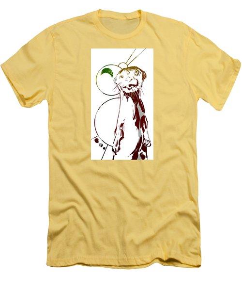 Spirit Animal . Otter Men's T-Shirt (Slim Fit) by John Jr Gholson