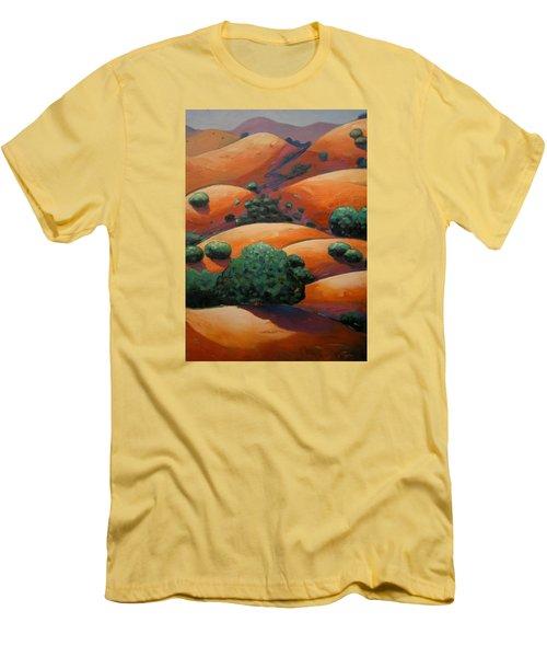 Splendid Uphill Men's T-Shirt (Slim Fit) by Gary Coleman