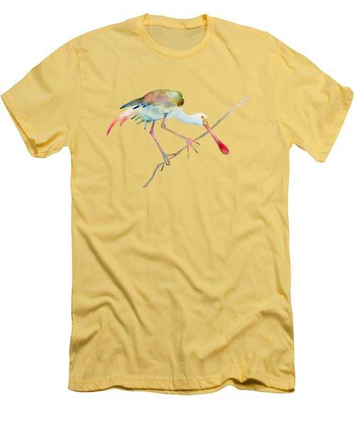 Spoonbill  Men's T-Shirt (Athletic Fit)