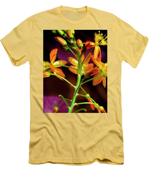 Spring Blossoms 3 Men's T-Shirt (Slim Fit) by Stephen Anderson