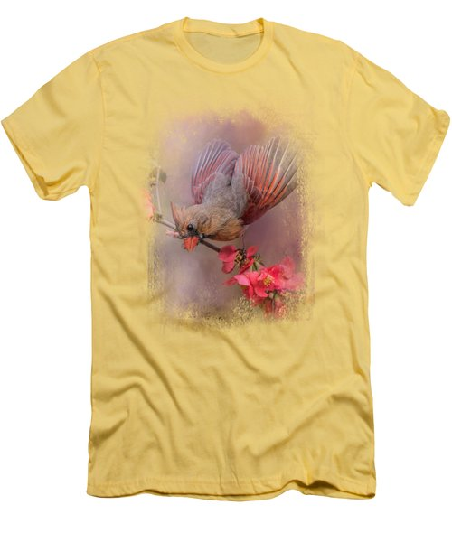 Spring Cardinal 2 Men's T-Shirt (Athletic Fit)