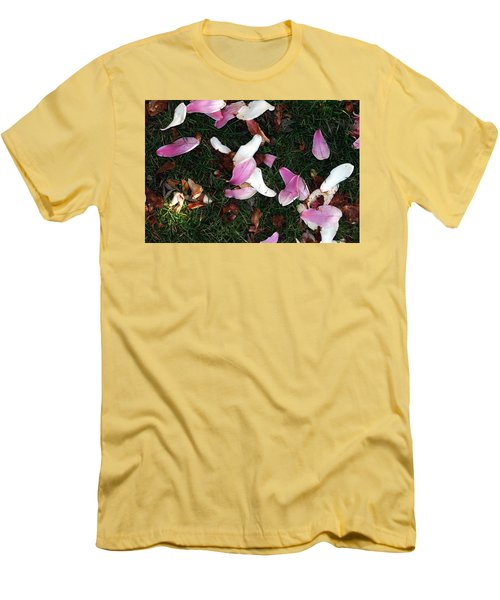 Spring Carpet Men's T-Shirt (Slim Fit) by Dorin Adrian Berbier