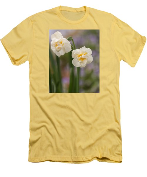 Men's T-Shirt (Athletic Fit) featuring the photograph Spring Dance by Julie Andel