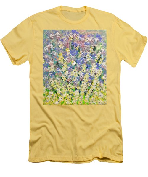 Spring Dreams Men's T-Shirt (Slim Fit) by George Riney