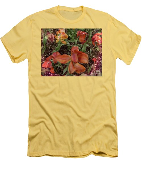 Men's T-Shirt (Slim Fit) featuring the photograph Spring Fever by Kathie Chicoine