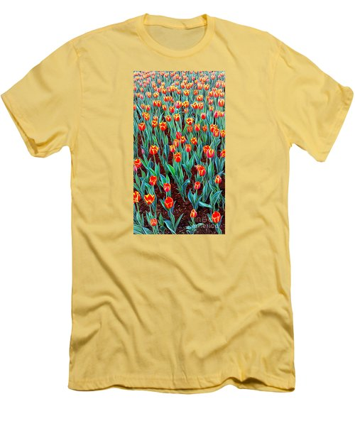 Spring In Holland Men's T-Shirt (Slim Fit) by Ian Gledhill