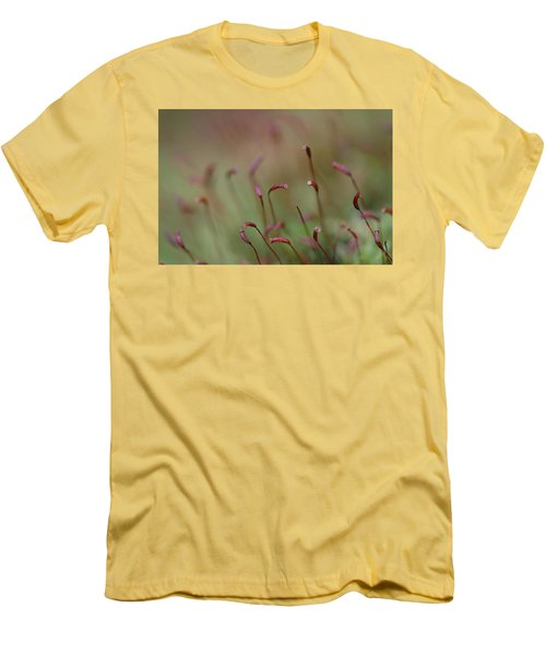 Men's T-Shirt (Slim Fit) featuring the photograph Spring Macro5 by Jeff Burgess