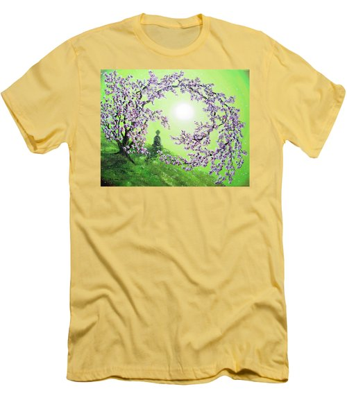 Spring Morning Meditation Men's T-Shirt (Athletic Fit)