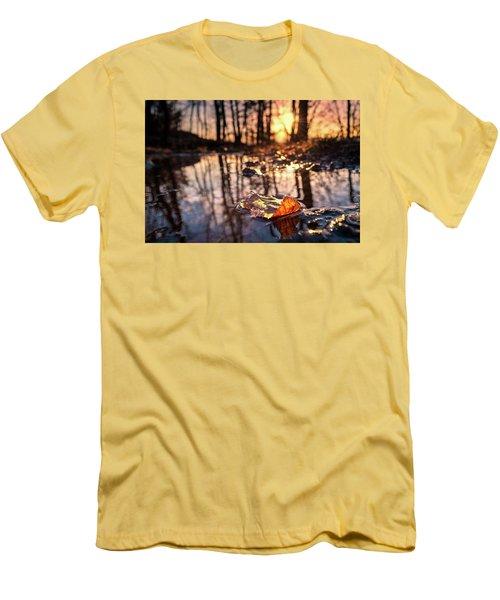 Spring Puddles Men's T-Shirt (Athletic Fit)