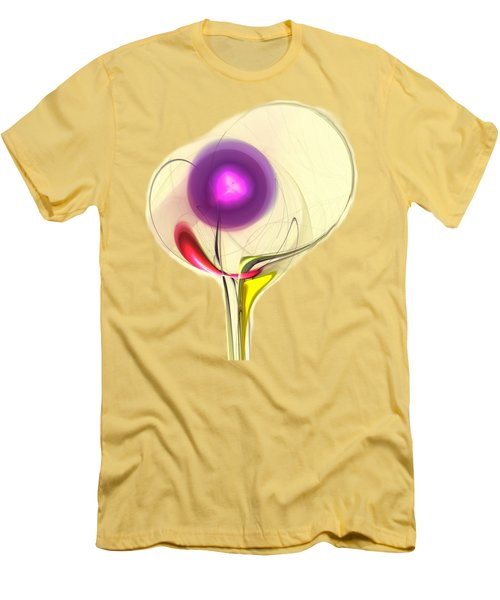 Men's T-Shirt (Athletic Fit) featuring the digital art Sprout by Anastasiya Malakhova