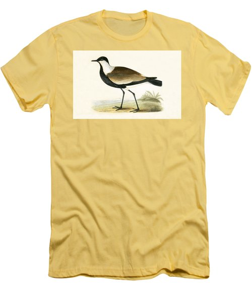 Spur Winged Plover Men's T-Shirt (Slim Fit) by English School