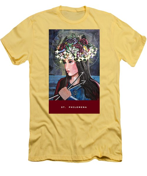 St. Philomena Men's T-Shirt (Athletic Fit)
