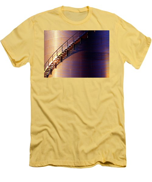 Stairway Abstraction Men's T-Shirt (Athletic Fit)