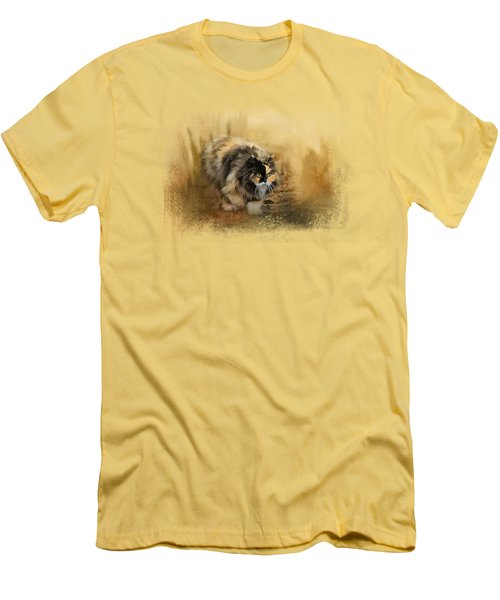 Stalking Autumn Men's T-Shirt (Slim Fit) by Jai Johnson