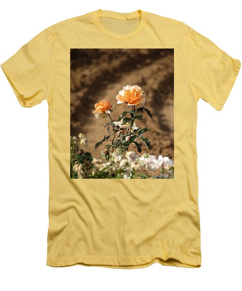 Men's T-Shirt (Slim Fit) featuring the photograph Standing Out by Laurel Powell